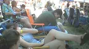 [Father's Day Bluegrass Festival irritants (and karma) in Grass Valley, 2006]